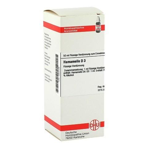 HAMAMELIS D 3 Dilution 50 Milliliter N1
