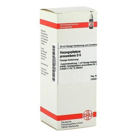 HARPAGOPHYTUM PROCUMBENS D 6 Dilution 50 Milliliter N1