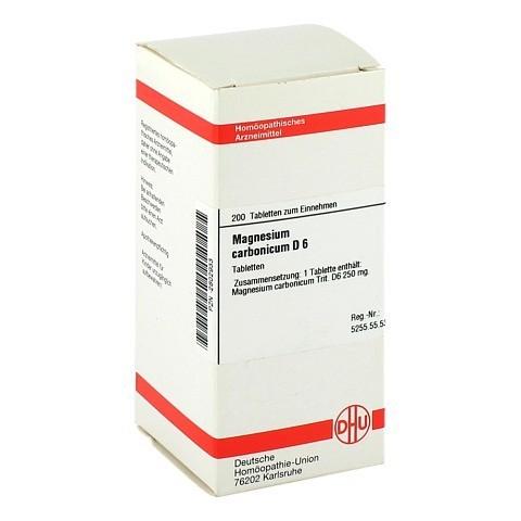 MAGNESIUM CARBONICUM D 6 Tabletten 200 Stück N2