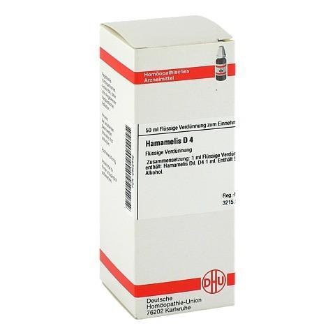 HAMAMELIS D 4 Dilution 50 Milliliter N1