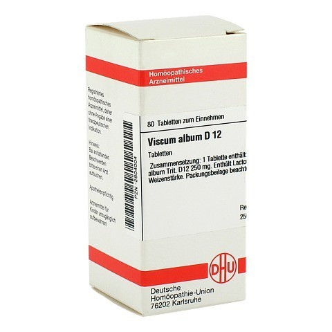 VISCUM ALBUM D 12 Tabletten 80 Stück N1