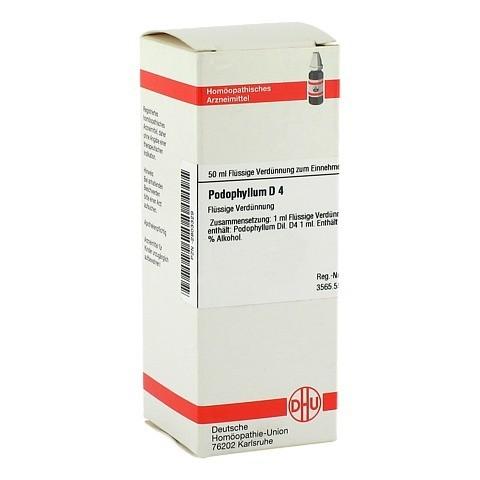 PODOPHYLLUM D 4 Dilution 50 Milliliter N1