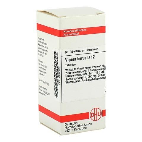 VIPERA BERUS D 12 Tabletten 80 Stück N1