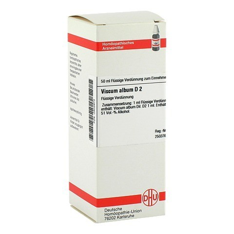 VISCUM ALBUM D 2 Dilution 50 Milliliter N1