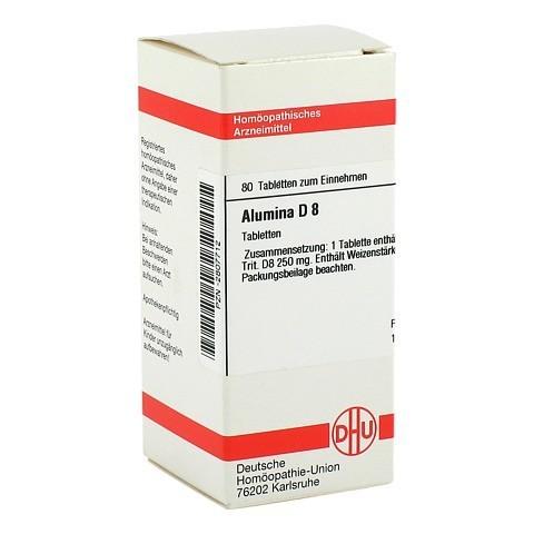 ALUMINA D 8 Tabletten 80 Stück N1