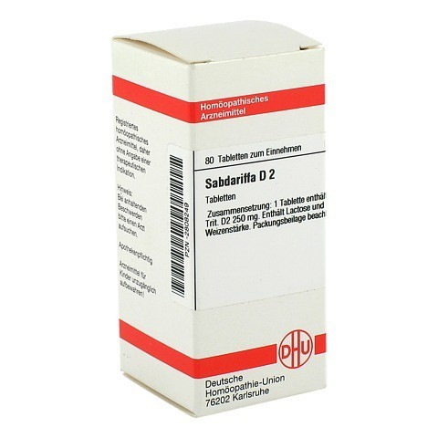 SABDARIFFA D 2 Tabletten 80 Stück N1