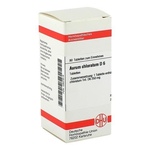 AURUM CHLORATUM D 6 Tabletten 80 Stück N1
