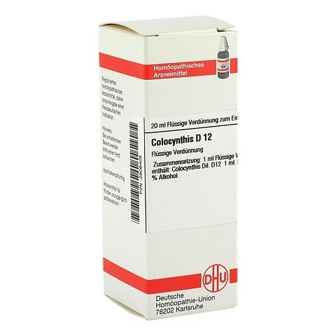 COLOCYNTHIS D 12 Dilution 20 Milliliter N1