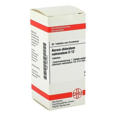 AURUM CHLORATUM NATRONATUM D 12 Tabletten 80 Stück N1