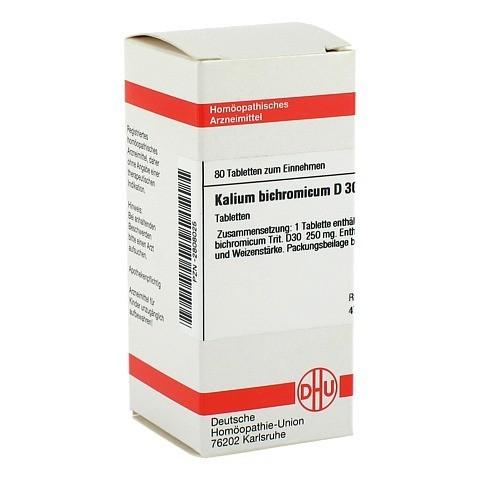 KALIUM BICHROMICUM D 30 Tabletten 80 Stück