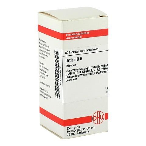 URTICA D 6 Tabletten 80 Stück N1