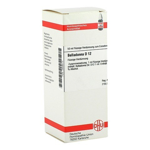 BELLADONNA D 12 Dilution 50 Milliliter N1
