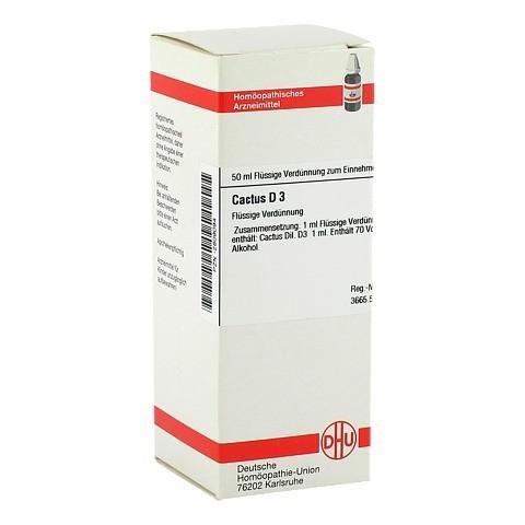 CACTUS D 3 Dilution 50 Milliliter N1