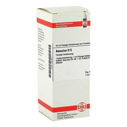 AESCULUS D 6 Dilution 50 Milliliter N1