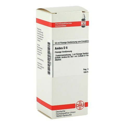 AMBRA D 6 Dilution 50 Milliliter N1