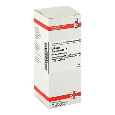 CALCIUM FLUORATUM D 12 Dilution 50 Milliliter N1