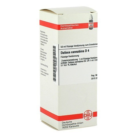 DATISCA cannabina D 4 Dilution 50 Milliliter N1
