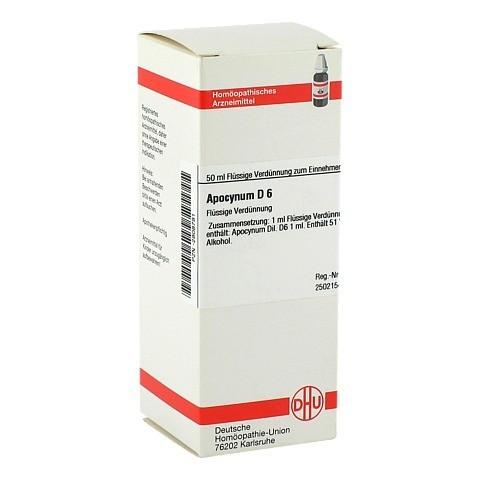 APOCYNUM D 6 Dilution 50 Milliliter N1