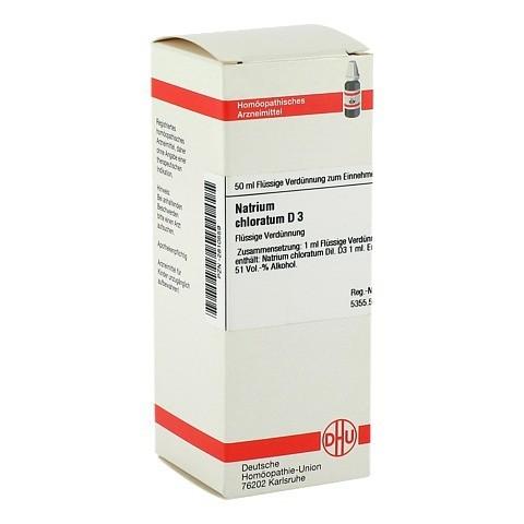 NATRIUM CHLORATUM D 3 Dilution 50 Milliliter N1