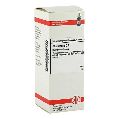 PHYTOLACCA D 6 Dilution 50 Milliliter N1