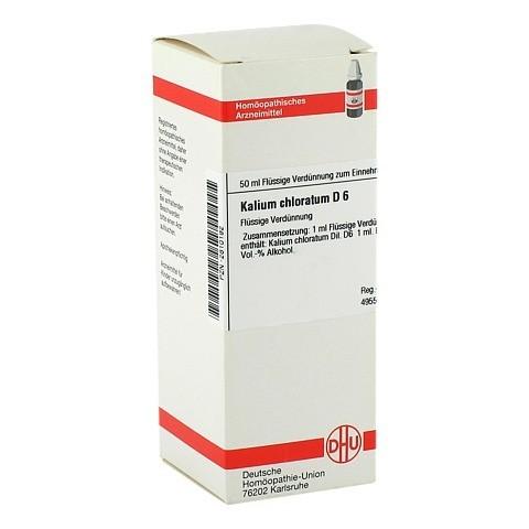 KALIUM CHLORATUM D 6 Dilution 50 Milliliter N1