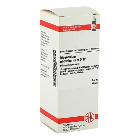 MAGNESIUM PHOSPHORICUM D 12 Dilution 50 Milliliter N1