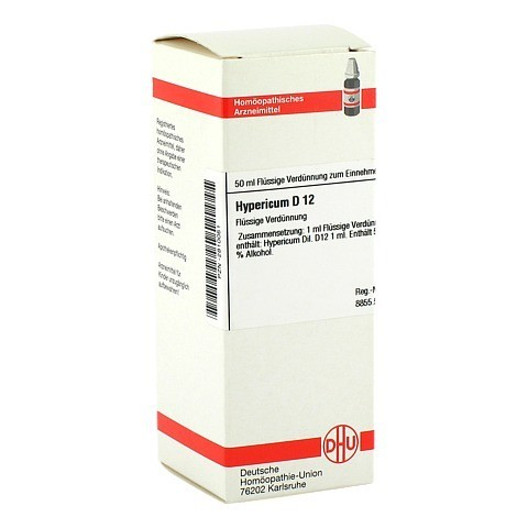 HYPERICUM D 12 Dilution 50 Milliliter N1