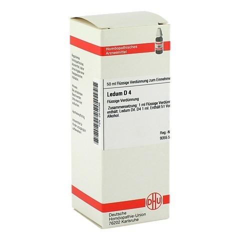 LEDUM D 4 Dilution 50 Milliliter N1