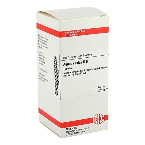 AGNUS CASTUS D 6 Tabletten 200 Stück N2