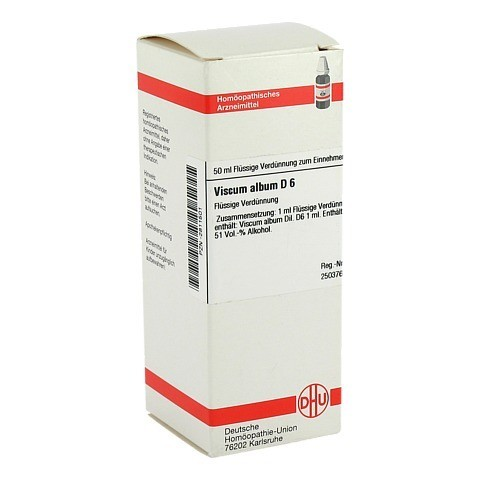 VISCUM ALBUM D 6 Dilution 50 Milliliter N1