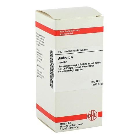 AMBRA D 6 Tabletten 200 Stück N2