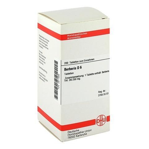 BERBERIS D 6 Tabletten 200 Stück N2