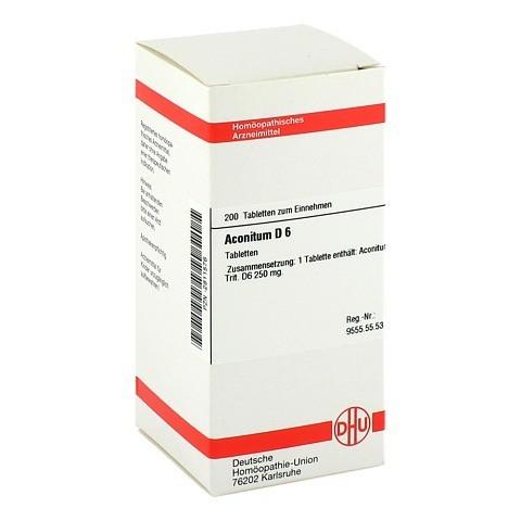ACONITUM D 6 Tabletten 200 Stück N2