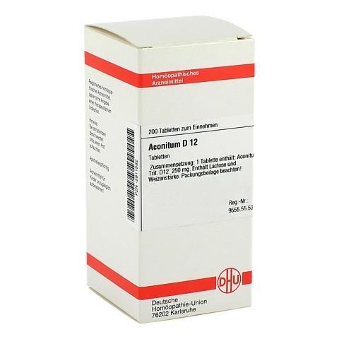 ACONITUM D 12 Tabletten 200 Stück N2