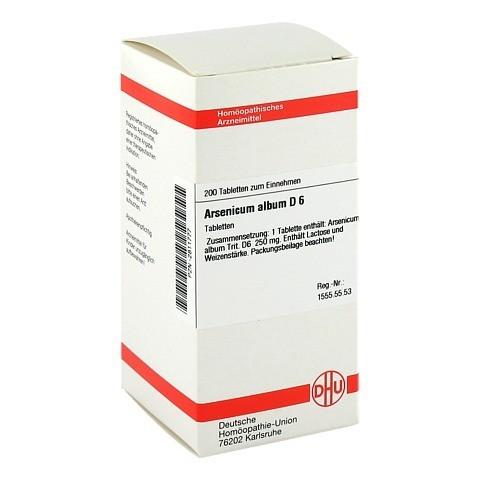 ARSENICUM ALBUM D 6 Tabletten 200 Stück N2