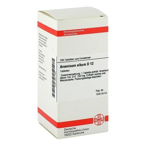 ARSENICUM ALBUM D 12 Tabletten 200 Stück N2