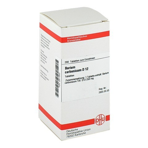 BARIUM CARBONICUM D 12 Tabletten 200 Stück N2