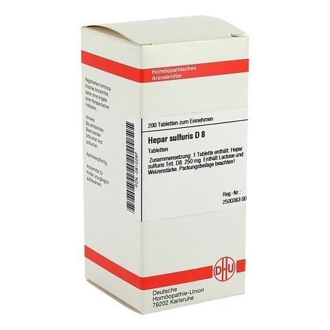 HEPAR SULFURIS D 8 Tabletten 200 Stück N2