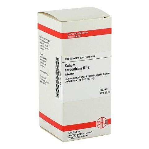 KALIUM CARBONICUM D 12 Tabletten 200 Stück N2