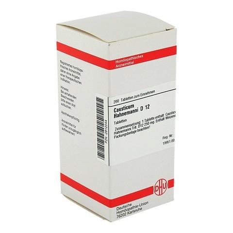 CAUSTICUM HAHNEMANNI D 12 Tabletten 200 Stück N2