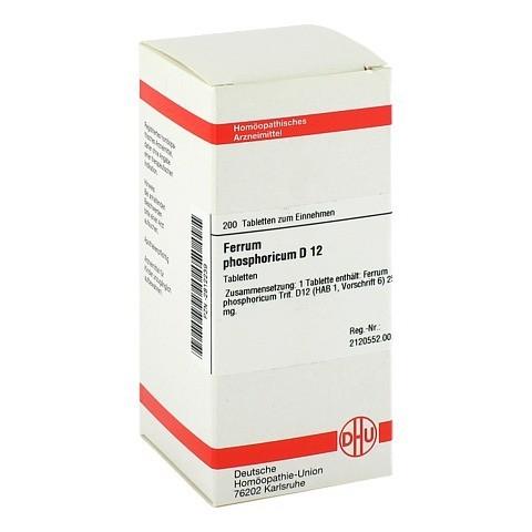 FERRUM PHOSPHORICUM D 12 Tabletten 200 Stück N2