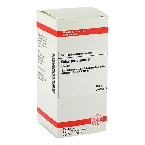 SABAL SERRULATUM D 3 Tabletten 200 Stück N2