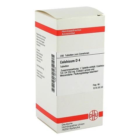 COLCHICUM D 4 Tabletten 200 Stück N2