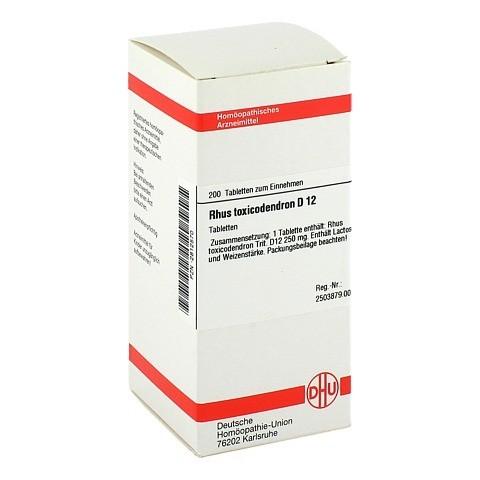 RHUS TOXICODENDRON D 12 Tabletten 200 Stück N2