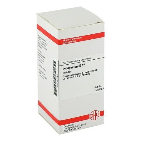 LYCOPODIUM D 12 Tabletten 200 Stück N2