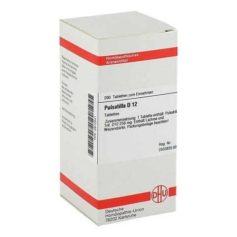 PULSATILLA D 12 Tabletten 200 Stück N2