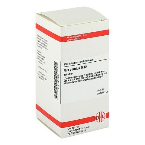 NUX VOMICA D 12 Tabletten 200 Stück N2