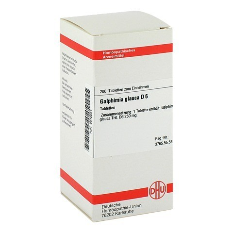 GALPHIMIA GLAUCA D 6 Tabletten 200 Stück N2