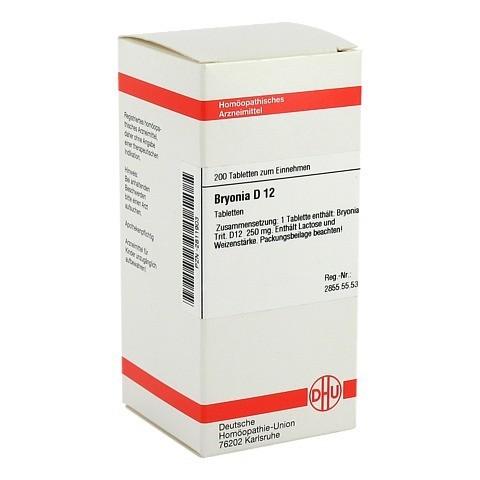 BRYONIA D 12 Tabletten 200 Stück N2
