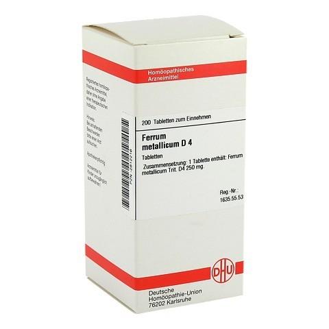 FERRUM METALLICUM D 4 Tabletten 200 Stück N2